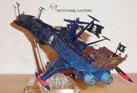 Aoshima Arcadia 78 Battle Damaged - Ratatarse Factory