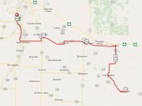 Marchand 200, Manitoba Randonneurs, Brevet, Manitoba, cycling, bike, biking, Ste Anne, Landmark, Richer, St Adolphe, route