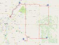 St Gen 200, Manitoba Randonneurs, Brevet, Manitoba, cycling, bike, biking, Ste Anne, Landmark, Richer, St Adolphe, route