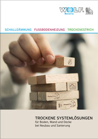 Broschüre Trockene Systemlösungen von Wolf Bavaria