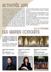 Abbaye de Clairvaux, La Lettre 2020, page 02