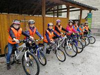 Fahrradprüfung - 4. Klasse