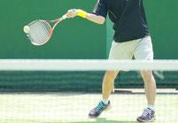 テニスのゆがみ