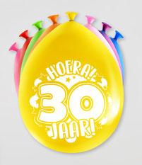 Party ballonnen 8 stuks € 2,25