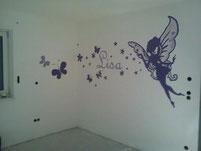 Wandmalerei Kinderzimmer
