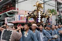 三社祭・町内神輿渡御