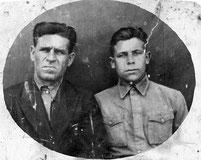Землянов Николай Николаевич с отцом
