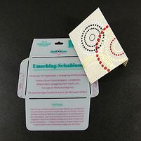 Umschlag-Schablone