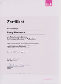 Kompressionshterapie II Percy Hartmann