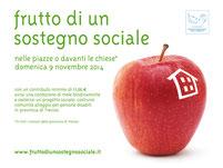 Locandina Frutto di un sostegno sociale 2014