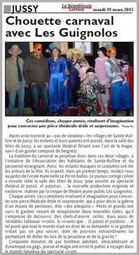article_de_presse_RL_190313_LES_GuiGnOlOs_spectacle_theatral_pour_enfants_et_la_famille_saison_2012_2013_JUSSY_SAINTE-RUFFINE