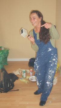 DIY Umzug Frau zieht um