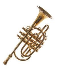 trompete musikinstrument christbaumschmuck musikgirlande
