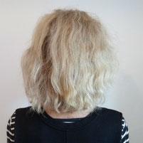 vor dem Friseurbesuch