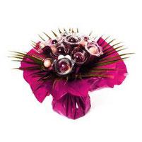 Bouquet chocolat rose