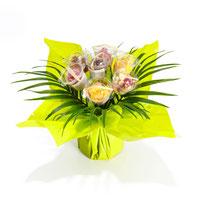 Bouquet chocolat jaune