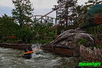 Dino Splash Intamin Raft Rafting Holiday Park Wasserbahn
