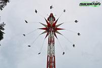 Lighthouse Tower Funtime Skyflyer Sky Flyer Holiday Park Freizeitpark Kettenkarussell