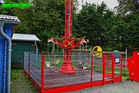 Affen und Vogelpark Eckenhagen Tierpark Wildpark Zoo Nordrhein Westfalen Mini Starflyer Karussell Heinz
