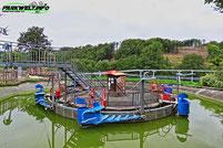 Affen und Vogelpark Eckenhagen  Wildwasserrondell Tierpark Wildpark Zoo Nordrhein Westfalen Butterfly 2 Sunkid Heege Pendelbahn