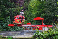 Affen und Vogelpark Eckenhagen Tierpark Drifter Jimmys Super Sause  Wildpark Zoo Nordrhein Westfalen Mini Starflyer Karussell Heinz