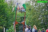 Affen und Vogelpark Eckenhagen Tierpark Wildpark Zoo Nordrhein Westfalen Abenteuer Spielplatz Attraktion Ananas Schaukel Inno Heege