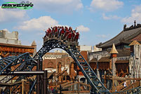 Taron Klugheim Phantasialand Intamin Launch Coaster Multi Rollercoaster Freizeitpark Themepark Brühl