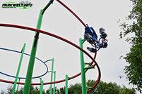 Sky Rider Skyline Park Allgäu Caripro Suspendet Spinning Coaster RRRAchterbahn Einzigartig Prototyp Einmalig