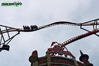 Sky Scream Premier Rides Achterbahn Rollercoaster Holiday Park