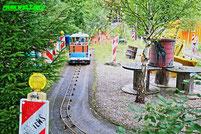Baustellenfahrt Allgäu Skyline Park SBF Visa Group Mini Trucks