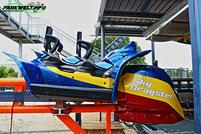 Sky Dragster Spike Coaster Maurer AG Beutler Allgäu Skiline Park Achterbahn