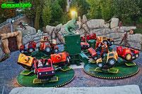 Der wilde T-Rex Break Dace SBF Visa Taunus Wunderland Neu neuheit 2021 Karussell Attraktion Freizeitpark