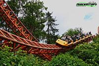 Expedition GeForce Intamin Mega Coaster Achterbahn Holiday Park Freizeitpark