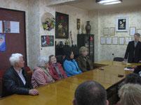 Литературный вечер 17.04.14 выступает проф.Филатов.