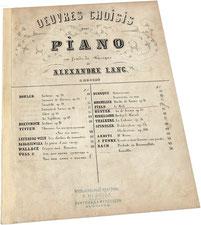 Фильд, Le Midi, ноктюрн, антикварные ноты