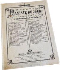Альпийская роза, ноктюрн, Юнгман, ноты для фортепиано