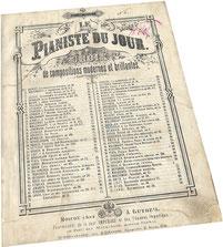 Ария, сочинённая королём Людовиком XIII, транскрипция Анри Ги, ноты для фортепиано