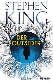Der Outsider Stephen King Buchcover Horror Bestseller