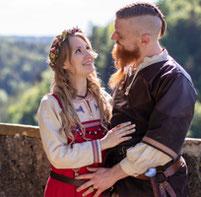 Hochzeitskleid, Brautkleid, Mittelaltergewand