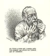 Illustration Charles Bukowski