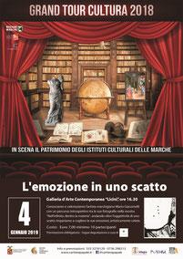 """Galleria d'Arte Contemporanea """"O. Licini"""", Venerdì 4 Gennaio, mostra fotografica dell'artista marchigiano Mario Giacomelli"""
