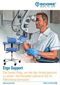 "Mikroskopstuhl ""Ergo-Support"""