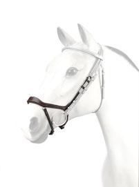 """Anatomisches Reithalfter """"Charlotte"""", anti-pressure, Pferd, Reithalfter, Hannoveranisch, Anti-Druck, Dressur, Charlotte Dujardin, Leder, Handgefertigt"""