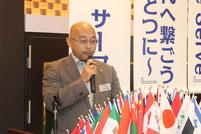 アイバンクキャンペーン運営委員長    L.川田 吉顕