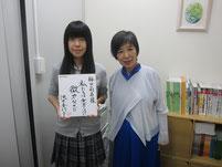 授業の後は、希望者にサイン会&写真撮影会。
