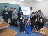 講師の森島由貴さんを囲んで記念写真。