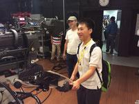 テレビカメラについての説明も受けました。