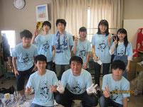 8月6日(土)の参加者と記念写真。