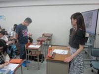 生徒からの質疑応答。