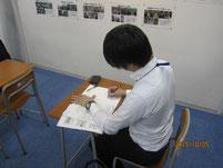 中日新聞の記者が取材。